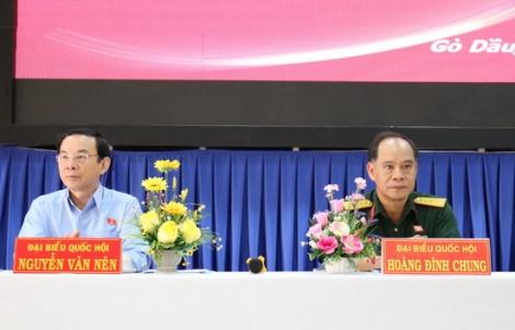 Đại biểu Quốc hội tiếp xúc cử tri Trảng Bàng, Gò Dầu