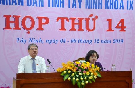 Khai mạc kỳ họp thứ 14, HĐND tỉnh khoá IX