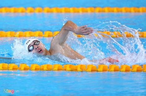 Huy Hoàng vui mừng khi phá kỷ lục, giành HCV SEA Games