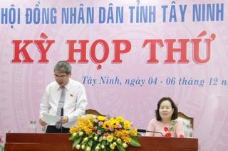 HĐND tỉnh: Thống nhất với các tờ trình, báo cáo tại kỳ họp
