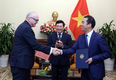 Đức mong muốn thúc đẩy quan hệ đối tác chiến lược với Việt Nam