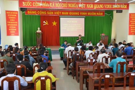 """Tân Châu: Hoàn thành hội nghị """"3 bình cử, 4 công kha"""", chốt quân số tuyển chọn gọi công dân nhập ngũ"""