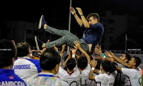 HLV Campuchia quyết giành HC vàng SEA Games