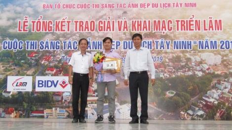 Trao giải cuộc thi Ảnh đẹp du lịch Tây Ninh năm 2019