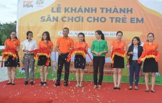 FPT Telecom khánh thành sân chơi trẻ em tại thành phố Tây Ninh