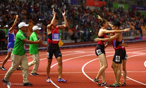 Chiến thuật khác biệt giúp Việt Nam đoạt HC vàng chạy tiếp sức