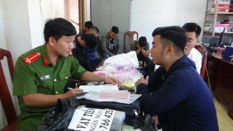 CATP.Tây Ninh bắt 8 đối tượng cho vay lãi nặng