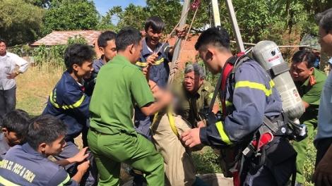 Tân Châu: Tá hoả phát hiện thi thể vợ dưới giếng