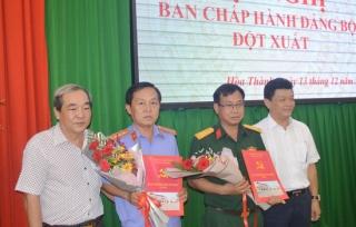 BCH Đảng bộ Hoà Thành tổ chức hội nghị đột xuất