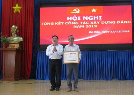 Năm 2019 Gò Dầu thi hành kỷ luật 7 đảng viên