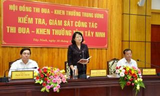 Tây Ninh có nhiều mô hình hay trong thực hiện công tác thi đua, khen thưởng