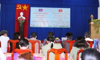 Tây Ninh: Tiếp nhận đào tạo sinh viên Campuchia