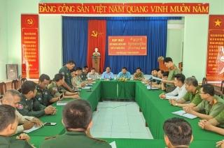 Xã Bình Thạnh: Họp mặt đối ngoại biên giới với xã giáp biên