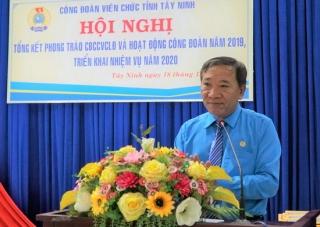 CĐVC Tây Ninh tổng kết hoạt động Công đoàn năm 2019