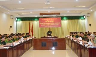 UBND tỉnh: Hiệp đồng giao, nhận quân năm 2020