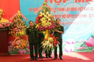 Họp mặt kỷ niệm ngày thành lập QĐND Việt Nam