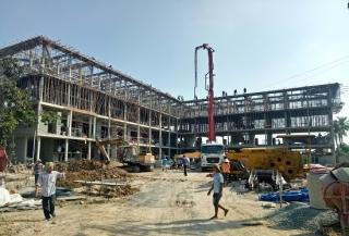 Công trình Trường THCS Hiệp Ninh sẽ hoàn thành trong tháng 4.2020