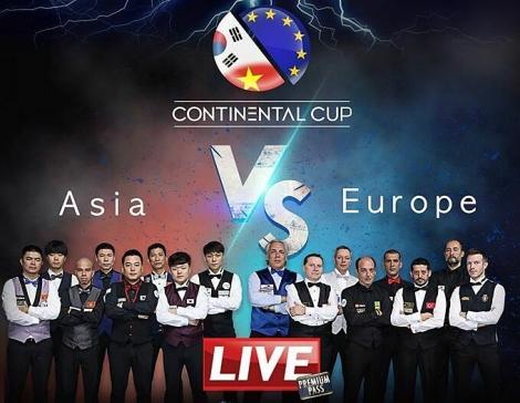 Ba cơ thủ Việt Nam cùng tuyển châu Á đọ sức châu Âu