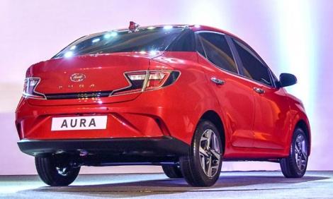 Hyundai Aura - xe sedan song sinh với i10 ra mắt