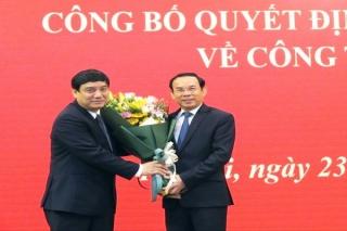 Đồng chí Nguyễn Đắc Vinh giữ chức Phó Chánh Văn phòng Trung ương Đảng