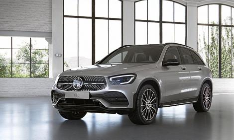 Mercedes GLC300 2020 nhập khẩu giá 2,56 tỷ
