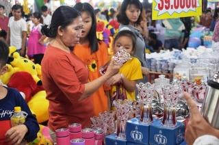 Khai mạc Hội chợ mua sắm và ẩm thực Tây Ninh 2019