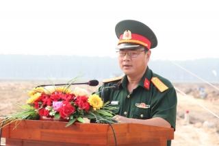 Khởi công Điểm dân cư liền kề chốt dân quân biên giới Bàu Năng