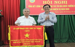 Hội Người tù kháng chiến Tây Ninh tổng kết hoạt động năm 2019