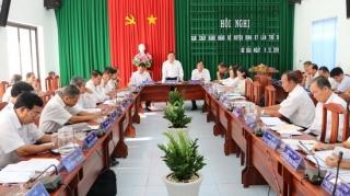 Gò Dầu: Hội nghị Ban chấp hành Đảng bộ huyện lần thứ 19