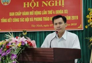 Hội Nông dân Tây Ninh tổng kết công tác Hội và phong trào nông dân năm 2019