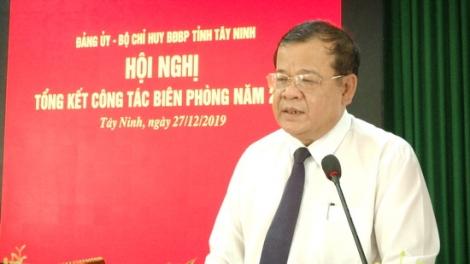 Biên phòng Tây Ninh tổng kết công tác năm 2019