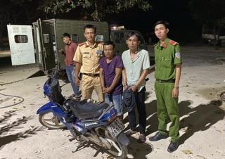Cảnh sát giao thông bắt đối tượng tàng trữ ma túy