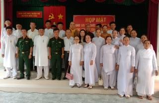 Bến Cầu: Họp mặt chức sắc, chức việc, nhà tu hành các tôn giáo, dân tộc