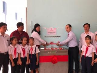 Trang bị hệ thống lọc nước cho Trường Tiểu học Phước Minh A