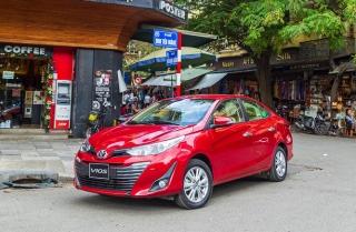 Toyota Vios 2020 thêm nhiều tiện nghi, giá từ 470 triệu đồng