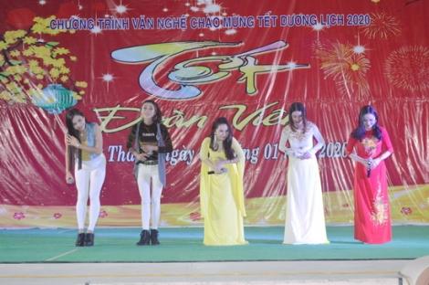 Hòa Thành tổ chức chương trình văn nghệ chào mừng năm mới 2020