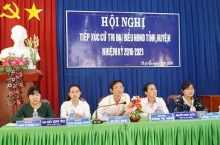 Hội nghị tiếp xúc cử tri thị trấn Bến Cầu