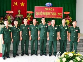 Chi bộ 2 - Đảng bộ Đồn biên phòng CKQT Mộc Bài tổ chức Đại hội nhiệm kỳ 2020-2022