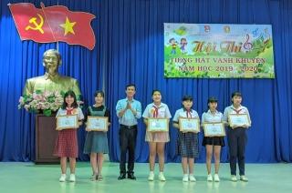 Trảng Bàng tổ chức hội thi Tiếng hát vành khuyên năm học 2019 - 2020