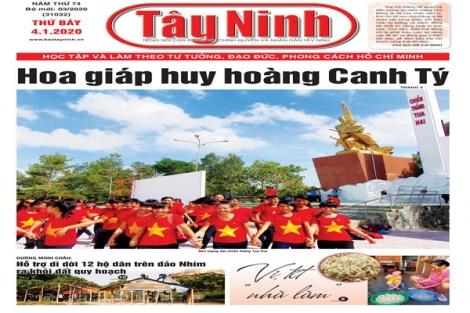 Điểm báo in Tây Ninh ngày 04.01.2020