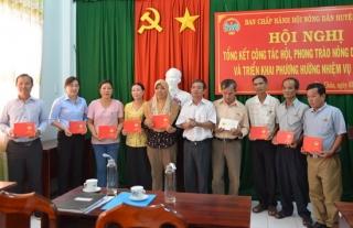 Hội Nông dân Tân Châu tổng kết công tác hội và phong trào nông dân năm 2019
