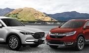 Mazda CX-8 – Honda CR-V, cuộc chiến đối đầu SUV cỡ trung