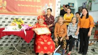 Mừng đại thọ cụ bà tròn 105 tuổi