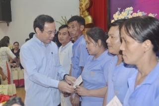 Đoàn công tác Trung ương thăm, tặng quà tại tỉnh Tây Ninh