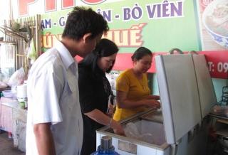 Thành phố Tây Ninh: Kiểm tra ATTP mùa Tết