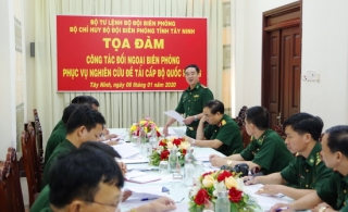 Bộ Tư lệnh BĐBP tọa đàm công tác đối ngoại biên phòng