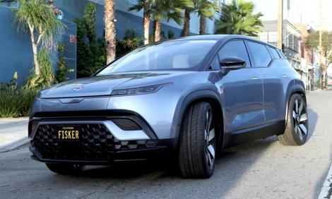 Fisker Ocean - ôtô điện hạng sang giá từ 37.500 USD
