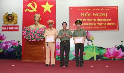 Đảng ủy Công an Tây Ninh tổng kết công tác xây dựng Đảng năm 2019
