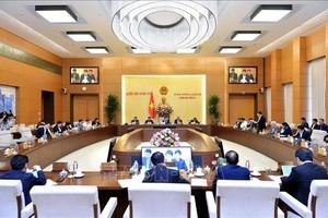 Ngày 9/1, khai mạc Phiên họp thứ 41 của Ủy ban Thường vụ Quốc hội khóa XIV
