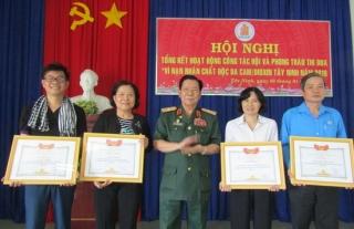Hội NNCĐDC/Dioxin Tây Ninh tổng kết công tác năm 2019